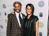 Pose pals Billy Porter and MJ Rodriguez snap a sweet pic.