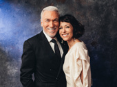 Theater couple Patrick Page and Paige Davis