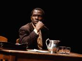 Gbenga Akinnagbe as Tom Robinson in To Kill a Mockingbird.