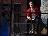 Kyle McArthur as Simon in Superhero.