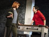 Kate Baldwin as Charlotte and Kyle McArthur as Simon in Superhero.