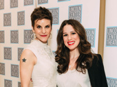 Camelot's Sir Lionel,  Jenn Colella, joins Beautiful star Chilina Kennedy.