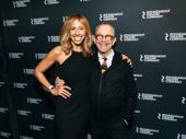 Composer/lyricist Amanda Green and Broadway legend Joel Grey snap a sweet pic.
