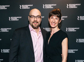 Alexander Gemignani and Erin Ortman are all smiles for opening night of Kiss Me, Kate.