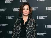 Broadway's Margaret Colin takes a photo.