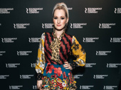 Singer-songwriter Ingrid Michaelson steps out to support Will Chase's big night in Kiss Me, Kate.