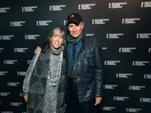 Julia Schafler and Jim Dale hit the red carpet.