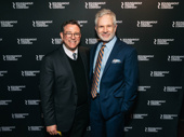 Director Michael Greif and Gerald McCullouch attend the Broadway opening of Kiss Me, Kate.