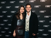 Theater couple Phillipa Soo and Steven Pasquale step out.