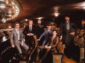 Kiss Me, Kate's Preston Truman Boyd, Travis Waldschmidt, Sam Strasfeld, Rick Faugno, Will Burton and Derrick Cobey