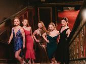 Kiss Me, Kate's Sarah Meahl, Christine Cornish Smith, Tanya Haglund, Marissa McGowan and Haley Fish