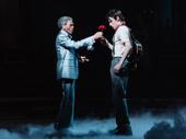 "André De Shields and Reeve Carney perform ""Wait for Me."""