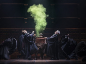 Nicholas Podany as Albus and Bubba Weiler as Scorpius in Harry Potter and the Cursed Child.