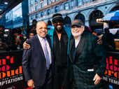 Music icons Berry Gordy, Otis Williams and Shelly Berger get together.