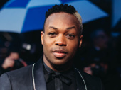 Broadway alum Todrick Hall attends opening night of Ain't Too Proud.