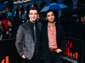 Torch Song pals Michael Urie and Michael Hsu Rosen attend opening night of Ain't Too Proud.