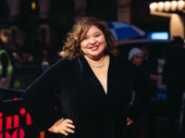 Tony-nominated director Liesl Tommy strikes a pose.