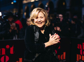 Three-time Tony nominee Brenda Vaccaro is all smiles for opening night.
