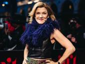 Tony winner Victoria Clark attends opening night of Ain't Too Proud.
