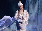 Ryann Redmond as Olaf in Frozen.