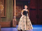 Patti Murin as Anna in Frozen.