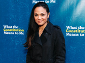Upcoming Moulin Rouge star Karen Olivo hits the red carpet.