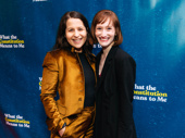 Composer Shaina Taub with What the Constitution Means to Me producer Rachel Sussman.