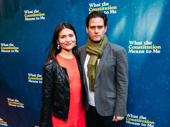 Broadway power couple Phillipa Soo and and Steven Pasquale have a date night.