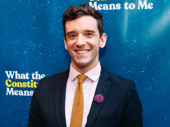 Torch Song star Michael Urie celebrates the new show playing at the Helen Hayes Theatre.