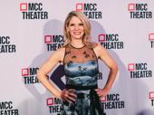 Kiss Me, Kate star Kelli O'Hara strikes a pose.