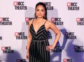 Moulin Rouge!-bound star Karen Olivo has arrived.