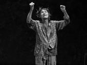 Glenda Jackson as King Lear in King Lear.