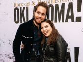 Tony winner Ben Platt with friend and actor Beanie Feldstein.