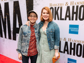 Be More Chill star Will Roland with fiancé Stephanie Wessels.