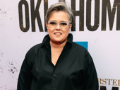 Screen and stage star Rosie O'Donnell arrives.