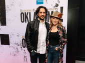 Former Hair and Les Misérables co-stars Will Swenson and current Frozen star Caissie Levy get together.