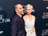 Sam Rockwell and Michelle Williams star as Bob Fosse and Gwen Verdon in FX's Fosse/Verdon.