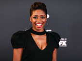Tony nominee Montego Glover is all smiles for the Fosse/Verdon series premiere.