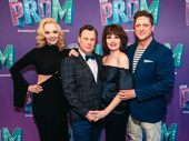 The Prom's Angie Schworer, Brooks Ashmanskas, Beth Leavel and Christopher Sieber snap a sweet pic. Catch them in The Prom at the Longacre Theatre!
