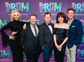 The Prom stars Angie Schworer, Josh Lamon, Brooks Ashmanskas, Beth Leavel and Christopher Sieber get together.