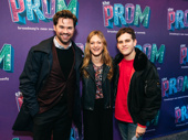 Andrew Rannells, Marin Ireland and Taylor Trensch get together.