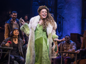 Amber Gray as Persephone in Hadestown.