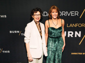 All My Sons star Annette Bening and Carolyn McCormick step out for Burn This.