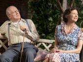 Tracy Letts as Joe Keller and Annette Bening as Kate Keller in All My Sons.