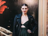 Tony winner Annaleigh Ashford attends opening night of Hadestown.