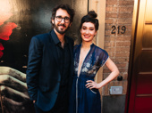 Josh Groban and Schuyler Helford step out for opening night of Hadestown. Groban received a 2017 Tony nomination for starring in the Rachel Chavkin-helmed Great Comet.