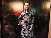 Hadestown producer Jordan Roth strikes a pose.