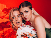 Heléne Yorke and Annaleigh Ashford