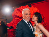 Theater couple Paige Davis and Patrick Page, who plays Hades in Hadestown
