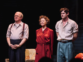 All My Sons stars Tracy Letts, Annette Bening and Benjamin Walker take a bow.
